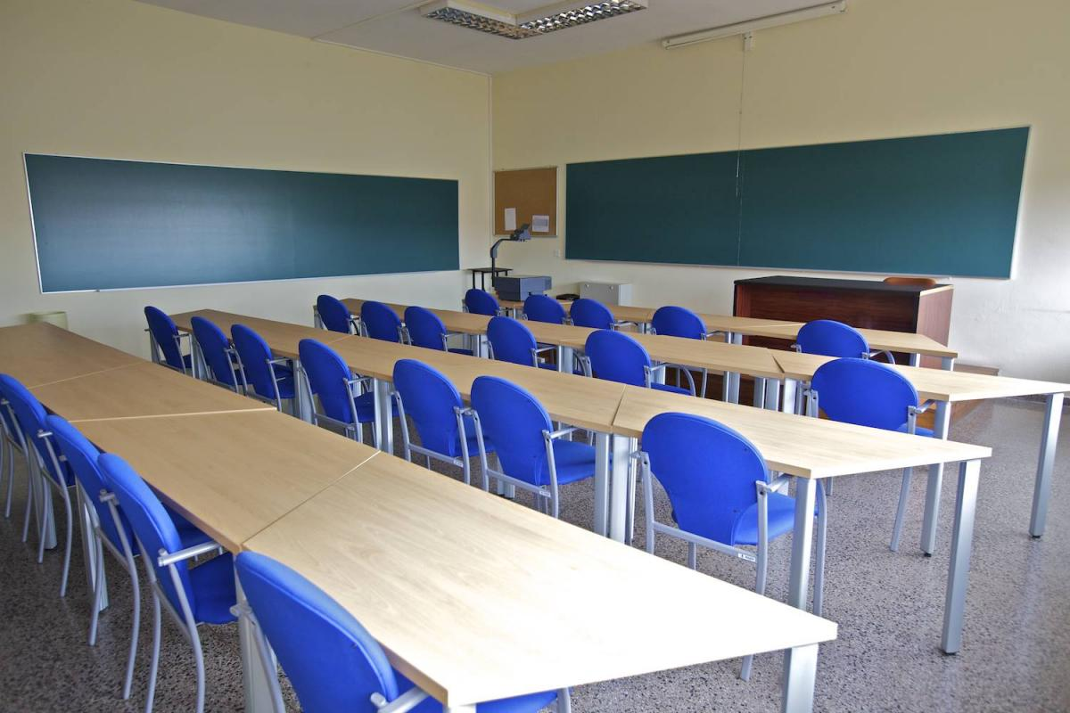 Teaching classroom in the Vigo University School of Business Studies (E.U.E.E.)