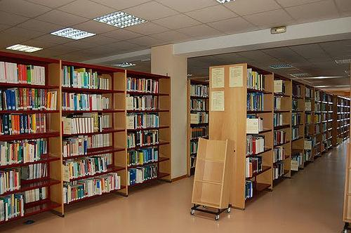 Library of the Vigo University School of Business Studies (E.U.E.E.)