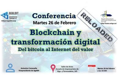 Charla sobre Blockchain en la EUEE