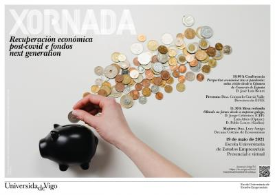 "Jornada ""Recuperación económica post-covid e fondos Next Generation"""